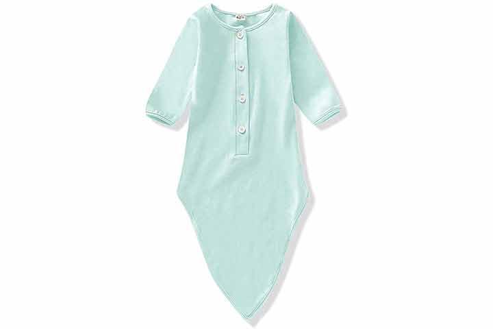 NZRVAWS Newborn Baby Gown