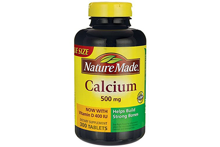 Nature Made Calcium 500mg + Vitamin D Tabs