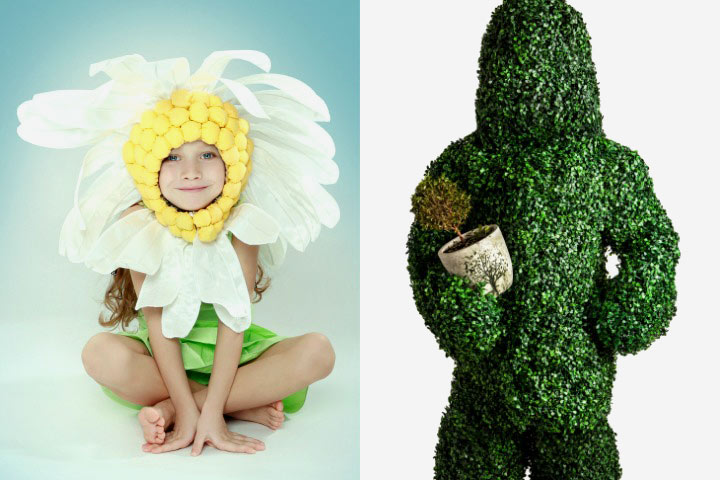 Nature-themed Fancy Dress Costumes