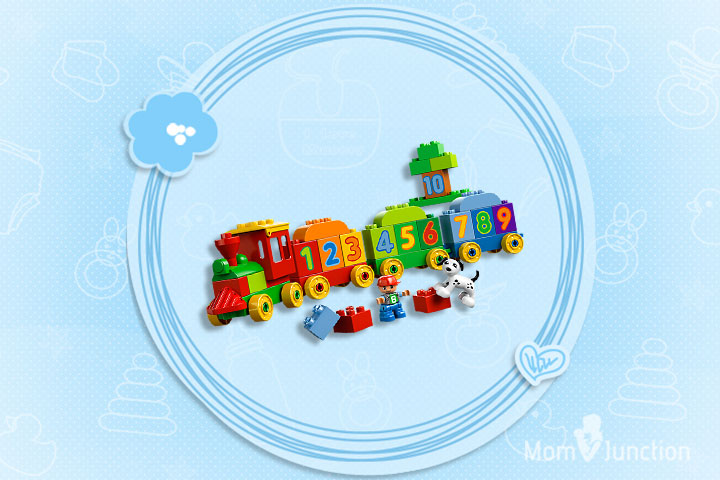 Christmas Gifts For Toddlers - Number Train