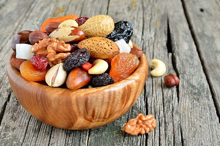 Snacks For Breastfeeding - Nut Mix Bowl