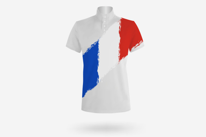 French Crafts For Kids - Paint T-Shirts