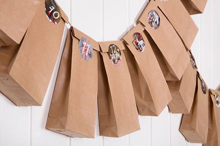 Advent Activities For Kids - Paper Bag Advent Calendar