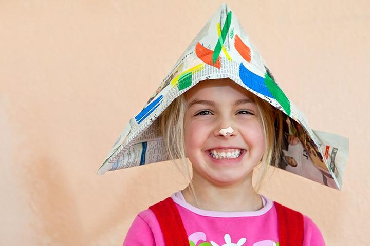 Paper Sailor Hat