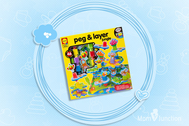 Christmas Gifts For Toddlers - Peg And Layer Jungle