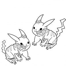 Pikachu As Zombie