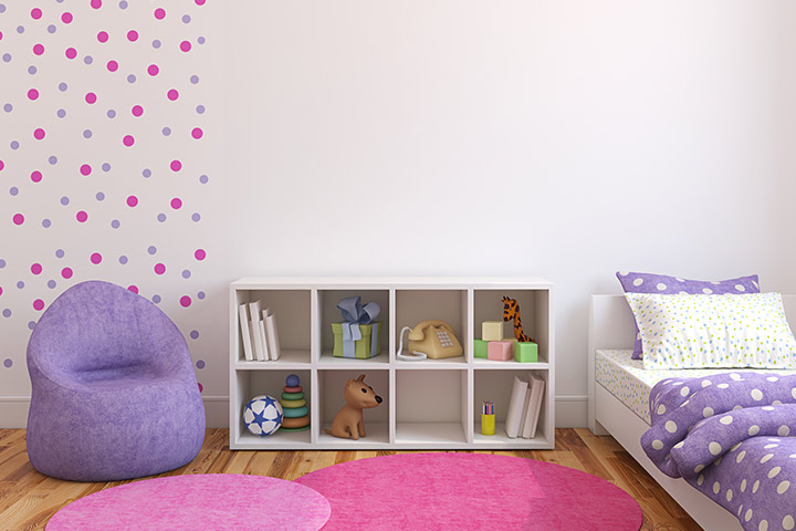 Polka dot room design