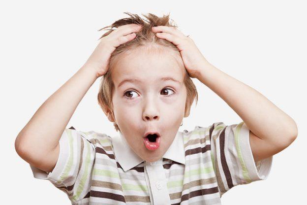 Vorzeitiges Ergrauen oder weiße Haare bei Kindern