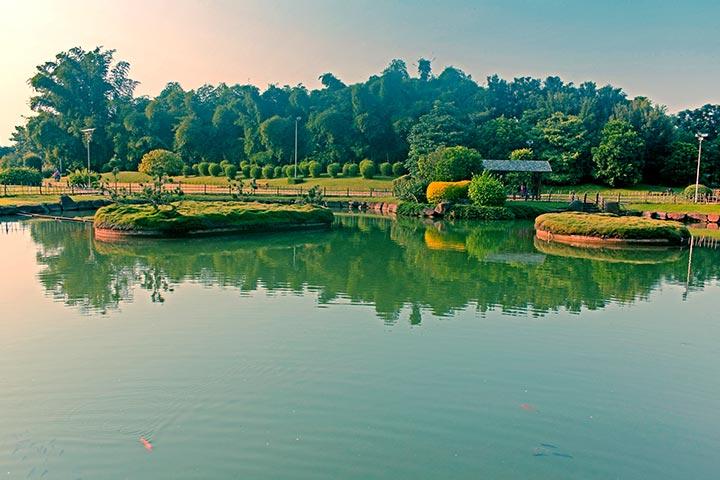 Pu La Deshpande Japanese Garden Pictures Pune
