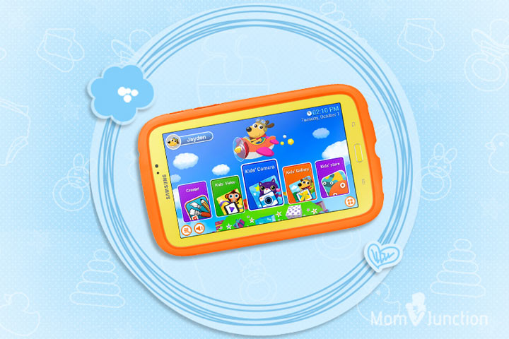 Learning Tablets For Kids - Samsung Galaxy Tab 3 Kids Edition