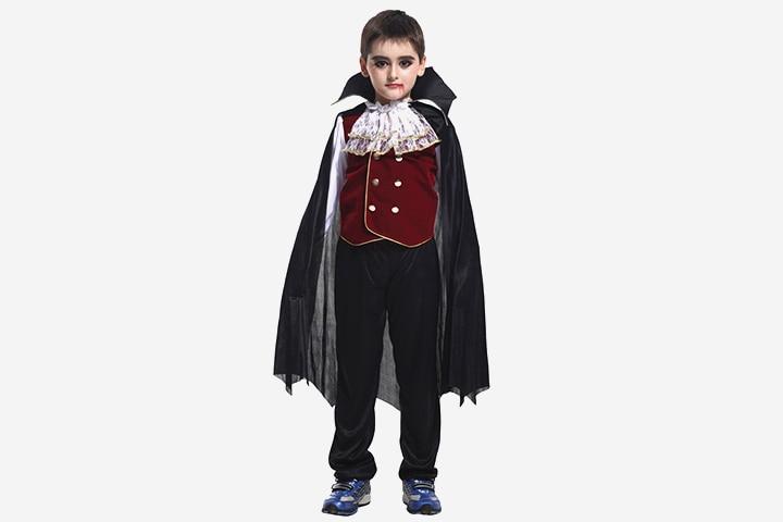 Vampire Costumes For Kids - Scary Classic Vampire Costume