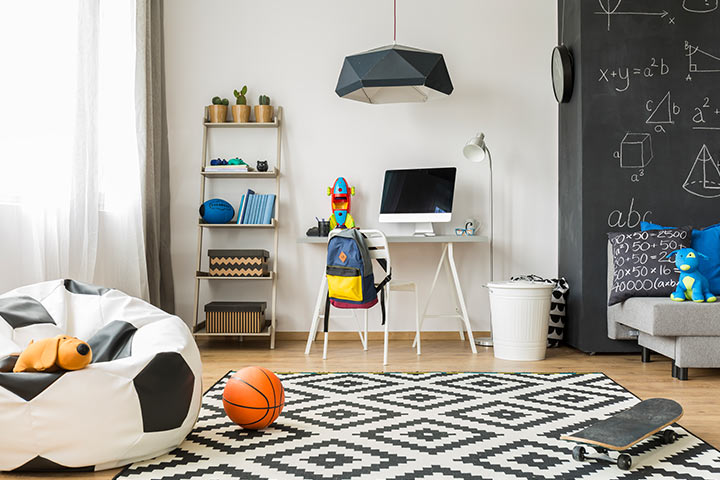 School kid room design
