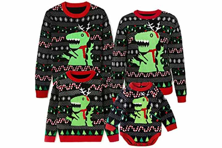 Simplee Kids Christmas Knitted Pullover
