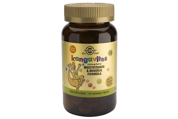 Solgar Kangavites Multivitamin & Mineral, Bouncin Berry Flavor