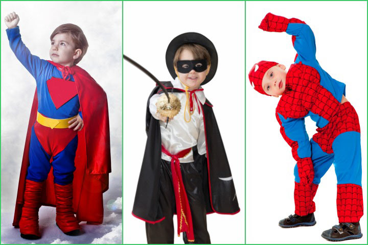 Superhero Fancy Dress Costumes