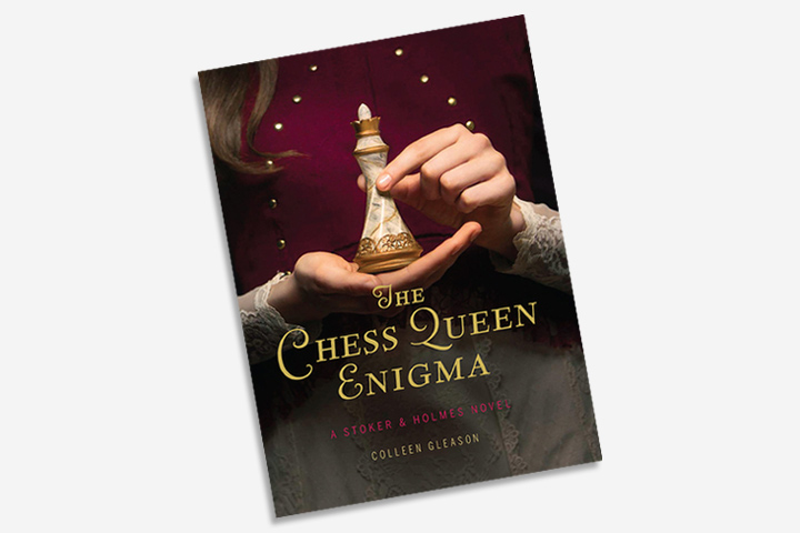 Adventure Books For Teens - The Chess Queen Enigma A Stoker And Holmes Novel