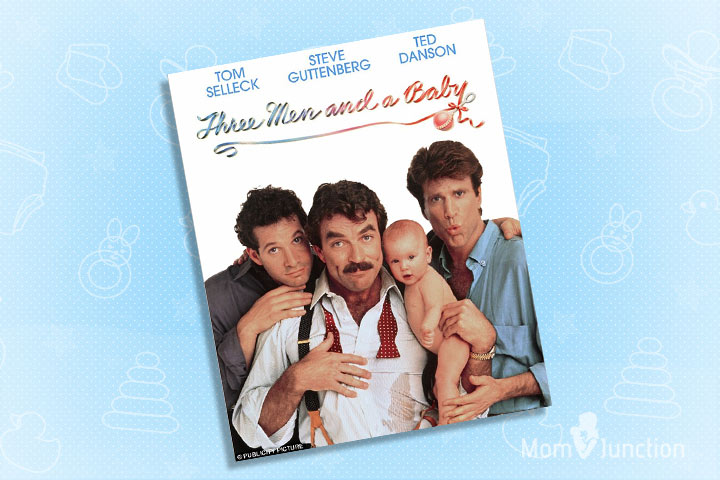 Pregnancy Movies - Three Men And A Baby