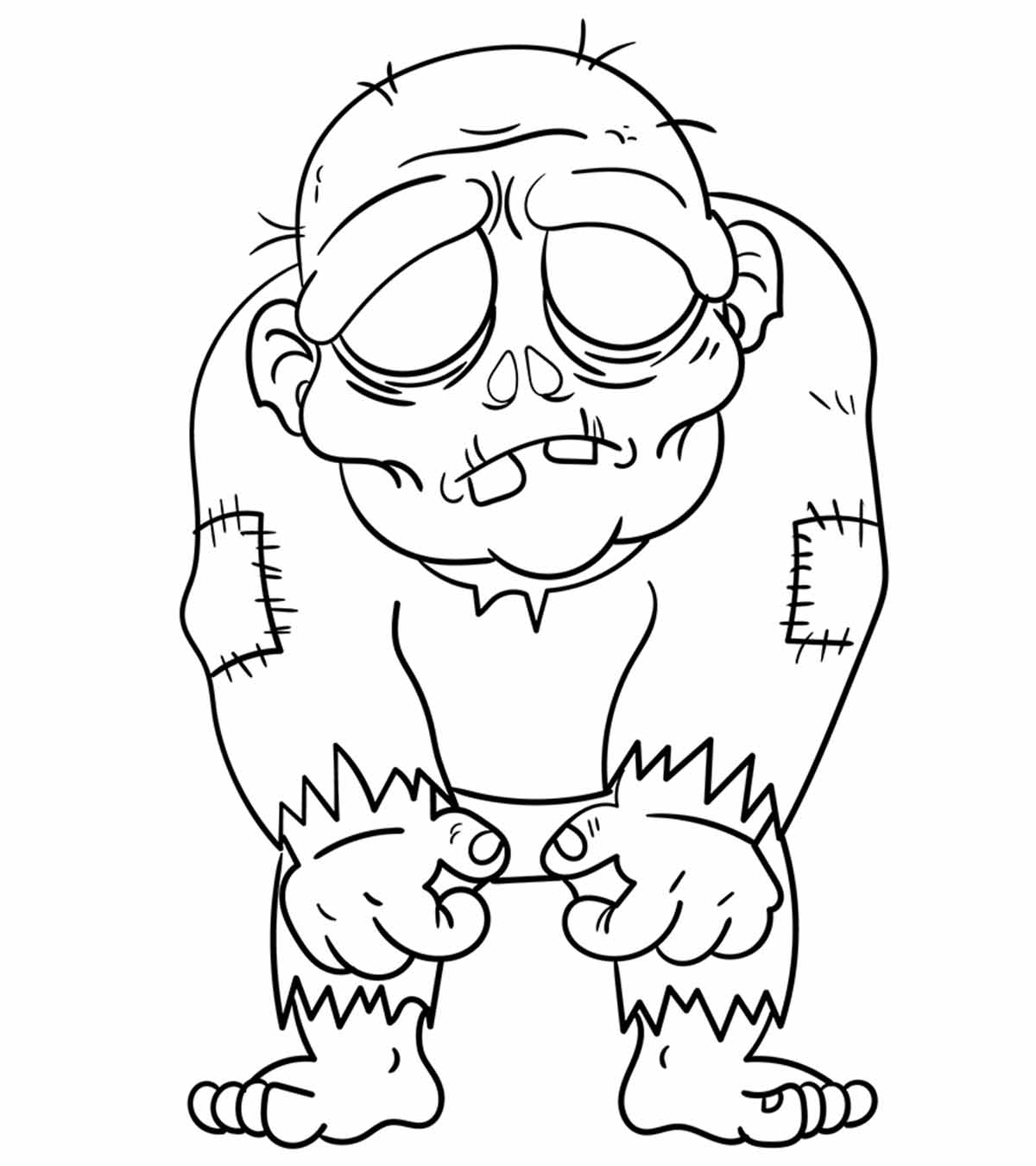 Coloring Pages Kids Parts Body: Cartoon Coloring Pages