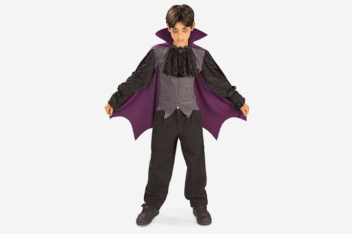 Vampire Costumes For Kids - Vampire Costume With Cape And Jabot