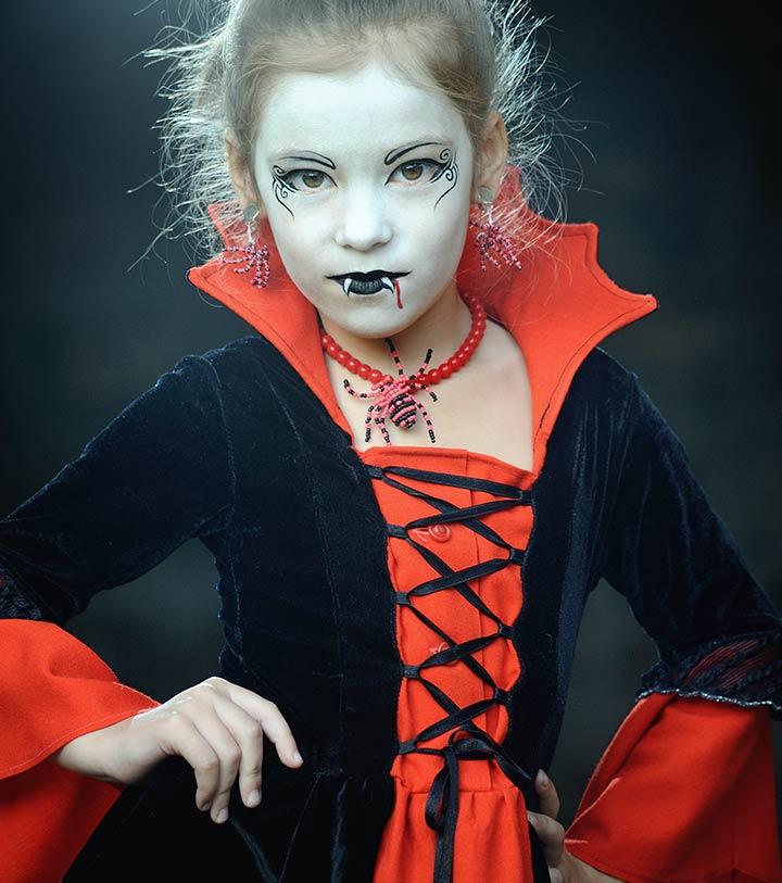 Vampire girl dress