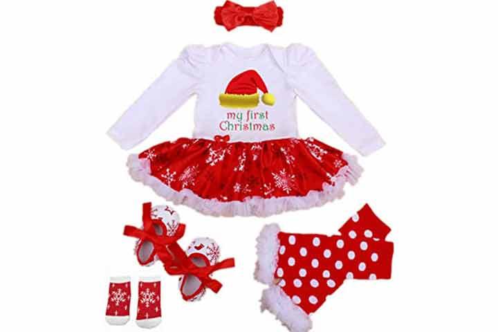 Winmi Baby Girls Onesie Costume