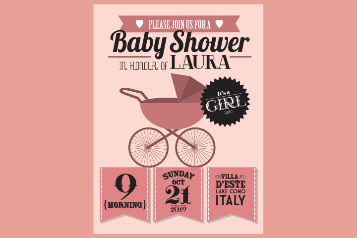 Baby Shower Invitation Message For Girl