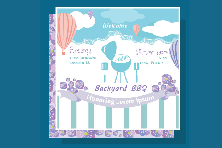 Invite Wordings For Theme Baby Shower
