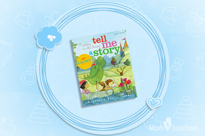 Christmas Gifts For Toddlers - eeBoll Tell Me A Story Cards