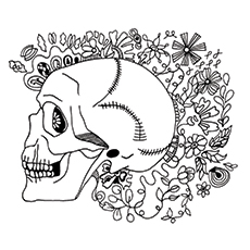 15 best skeleton coloring pages for your toddler - Skeleton Coloring Sheets