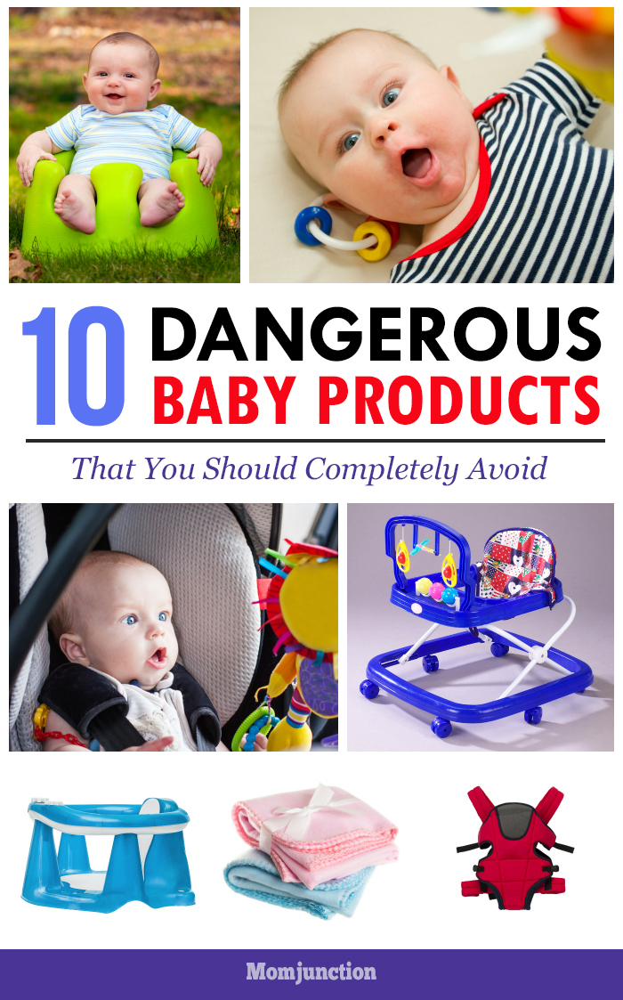 10 Most Dangerous Baby Products That You Should Completely