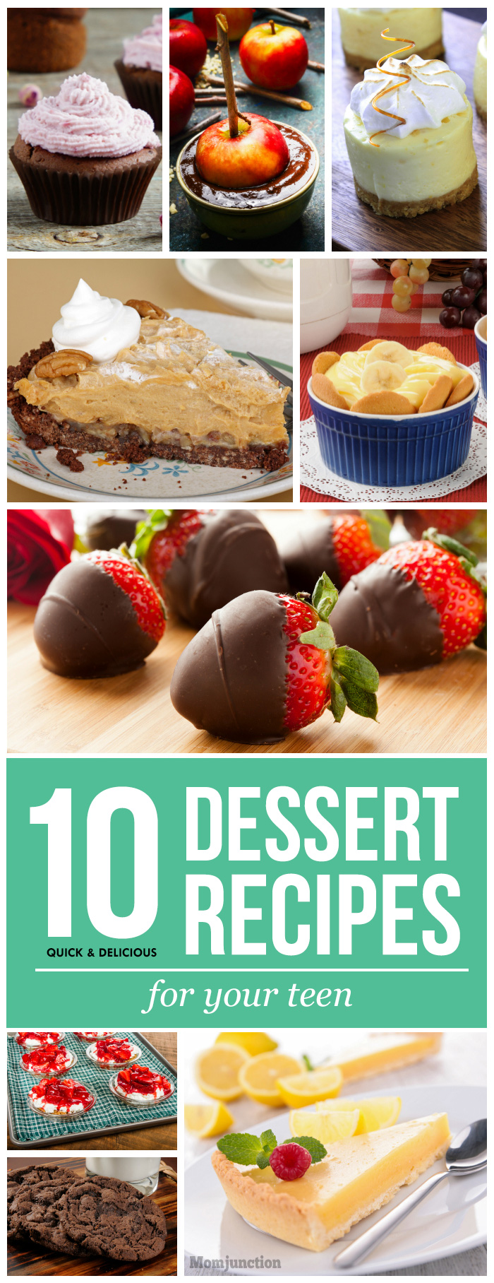 10 and simple dessert recipes for
