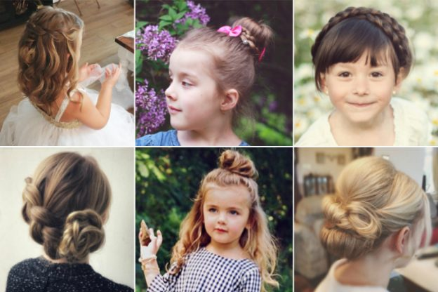 19 Easy Hairstyles For Little Girls