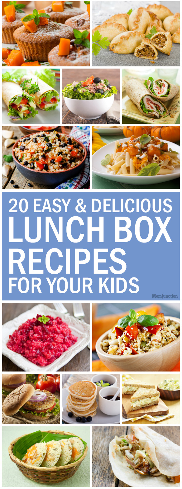 20 quick and healthy lunch box recipes for kids for Easy lunch ideas for kids at home