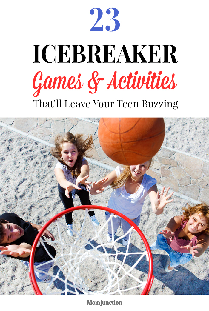 free icebreakers for teens