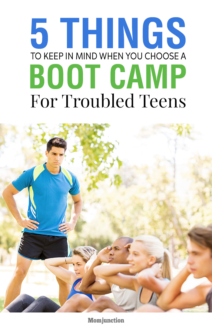 boot camp georgia teen