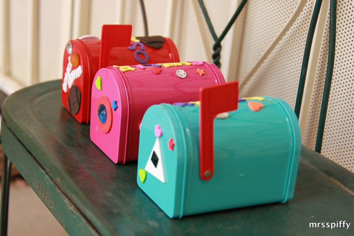 A cute personal mailbox for kids is supercool for them to receive messages,