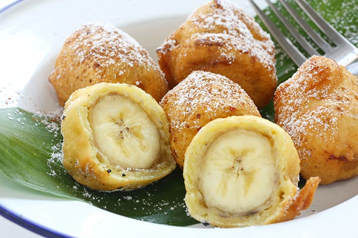 Banana Recipes For Kids - Banana Fritters