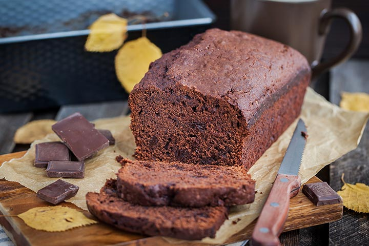 Banana Recipes For Kids - Banana Nuts And Chocolate Quick Bread