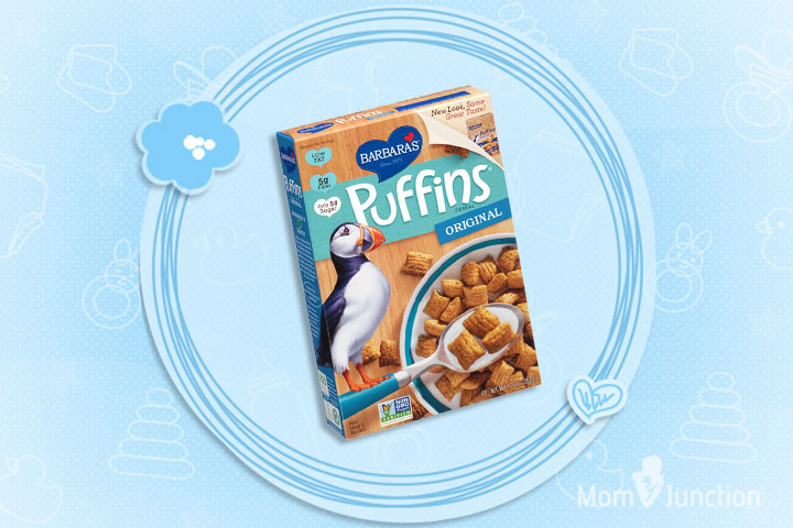 Best Cereal For Kids - Barbara's Original Puffins