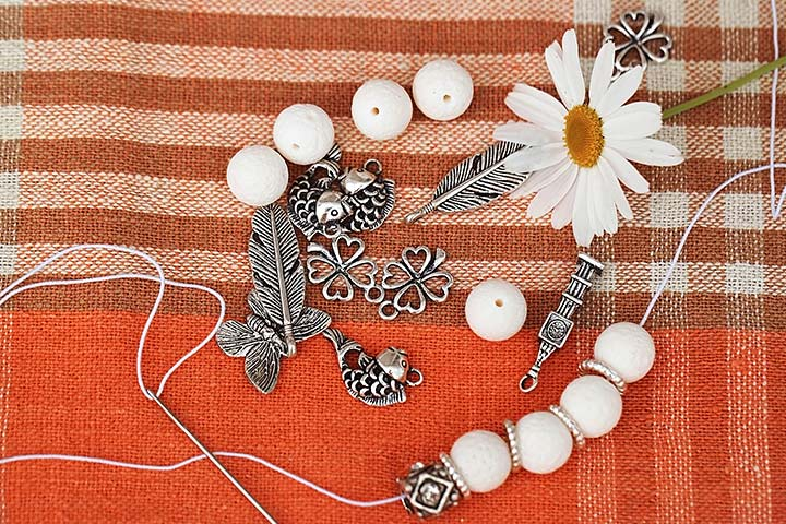 Bead Crafts For Kids - Bead Nature Jewelry