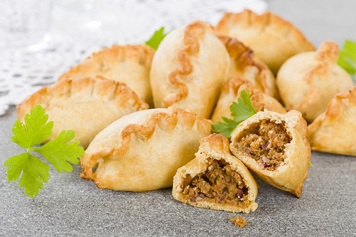 Lunch Box Recipes For Kids - Beef Mini Pies