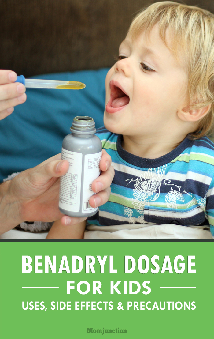 Benadryl For Kids Safety Profile Uses And Dosage Chart