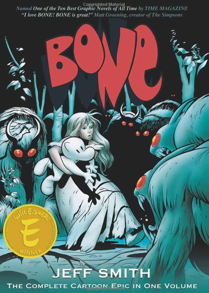 The Graphic Novel Has Three Main Characters With Several Other Reappearing And A Funny Storyline