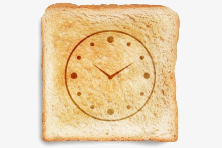 Clock Craft - Bread Clock Craft