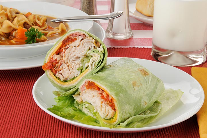California turkey rolls