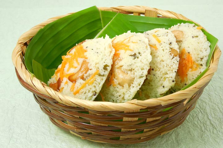Lunch Box Recipes For Kids  - Carrot Idli