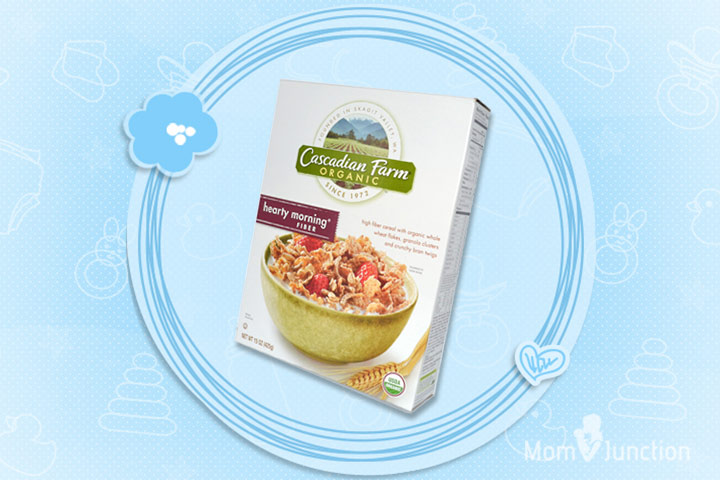 Best Cereal For Kids - Cascadian Farms Hearty Morning