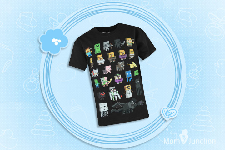 Minecraft Clothes For Kids - Character Boys' Minecraft T-shirt
