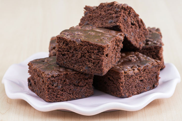 Lunch Box Recipes For Kids - Chocolate Fudge Brownie