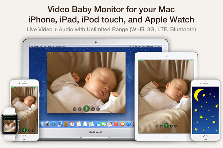Cloud Baby Monitor - Baby Development Apps